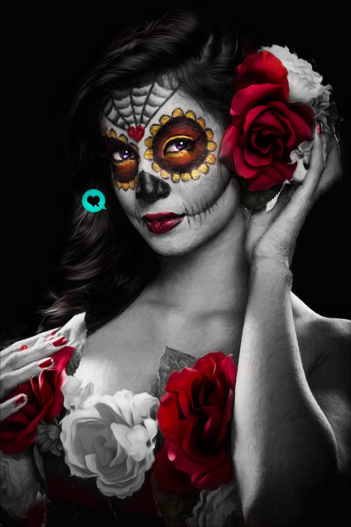 Catrina – Illustration Poster